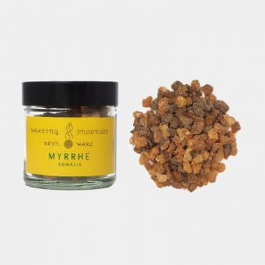 Reine Harze im Glas in 19 Sorten (VE=3) - Myrrhe VE=3