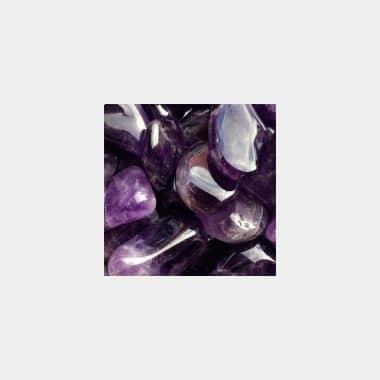 Trommelsteine in 70 Steinsorten (VE=0,5/1kg) - Amethyst VE=1kg