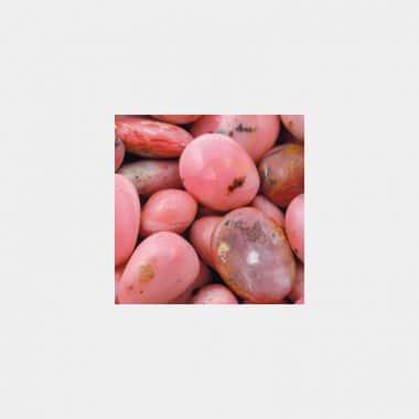 Trommelsteine in 70 Steinsorten (VE=0,5/1kg) - Andenopal rosa VE=1kg