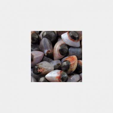 Trommelsteine in 70 Steinsorten (VE=0,5/1kg) - Augenachat VE=3 Stück