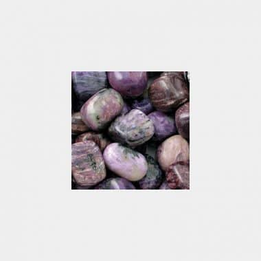 Trommelsteine in 70 Steinsorten (VE=0,5/1kg) - Charoit VE=0,5kg