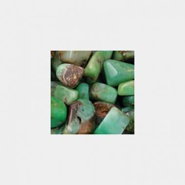 Trommelsteine in 70 Steinsorten (VE=0,5/1kg) - Chrysopras Größe XXS VE=1kg