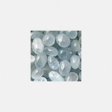 Trommelsteine in 70 Steinsorten (VE=0,5/1kg) - Coelestin VE=1kg
