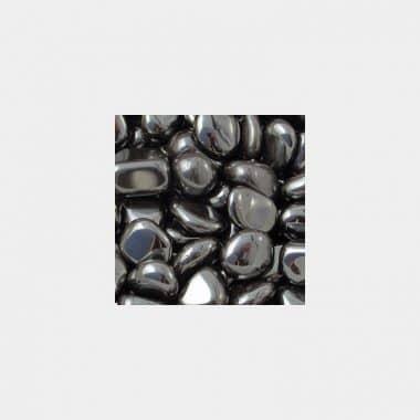 Trommelsteine in 70 Steinsorten (VE=0,5/1kg) - Hämatit VE=1kg