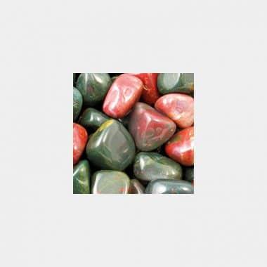 Trommelsteine in 70 Steinsorten (VE=0,5/1kg) - Heliotrop VE=1kg