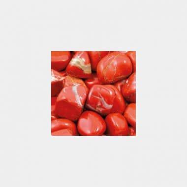 Trommelsteine in 70 Steinsorten (VE=0,5/1kg) - Jaspis rot VE=1kg
