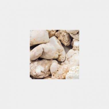 Trommelsteine in 70 Steinsorten (VE=0,5/1kg) - Magnesit VE=1kg