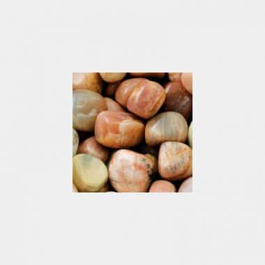 Trommelsteine in 70 Steinsorten (VE=0,5/1kg) - Mondstein VE=1kg