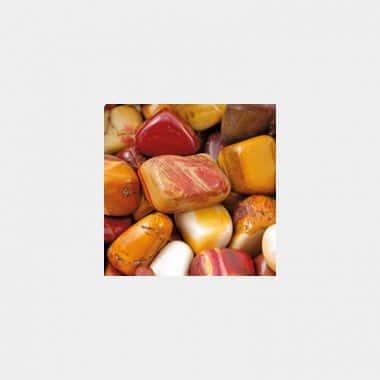 Trommelsteine in 70 Steinsorten (VE=0,5/1kg) - Mookait VE=1kg