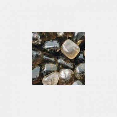 Trommelsteine in 70 Steinsorten (VE=0,5/1kg) - Rauchquarz VE=1kg