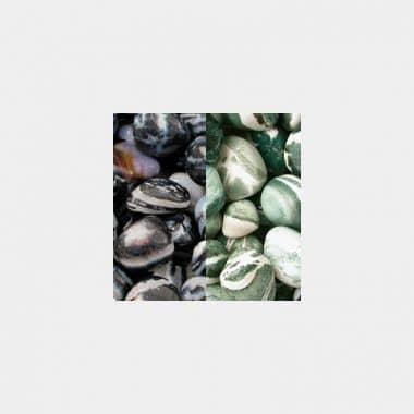 Trommelsteine in 70 Steinsorten (VE=0,5/1kg) - Sardonyx VE=1kg