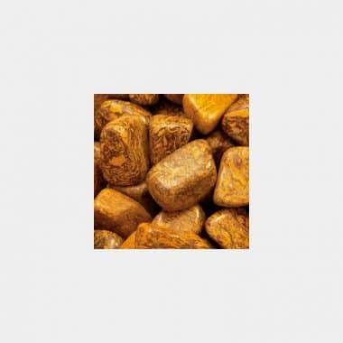 Trommelsteine in 70 Steinsorten (VE=0,5/1kg) - Schlangenjaspis VE=1kg