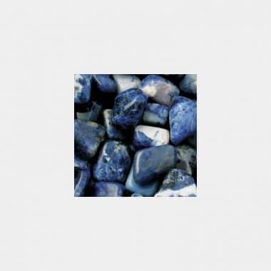 Trommelsteine in 70 Steinsorten (VE=0,5/1kg) - Sodalith VE=1kg