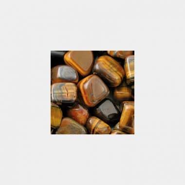 Trommelsteine in 70 Steinsorten (VE=0,5/1kg) - Tigerauge gelb Qualität A VE=1kg