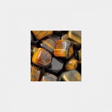 Trommelsteine in 70 Steinsorten (VE=0,5/1kg) - Tigerauge blau Qualität A VE=1kg