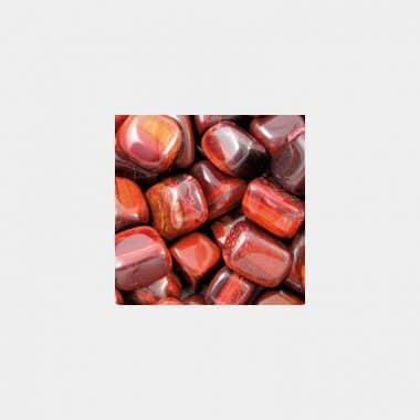 Trommelsteine in 70 Steinsorten (VE=0,5/1kg) - Tigerauge rot VE=1kg