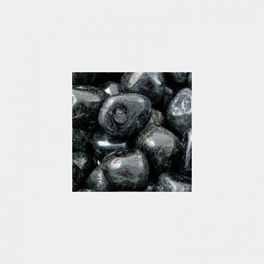 Trommelsteine in 70 Steinsorten (VE=0,5/1kg) - Turmalin schwarz VE=1kg