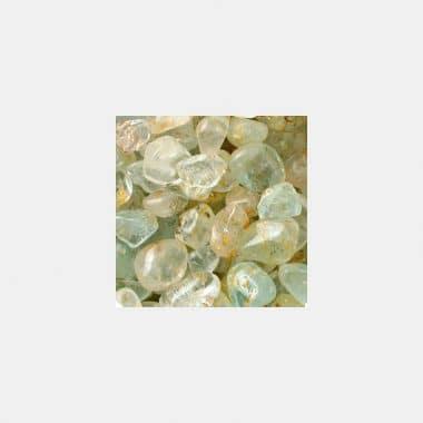 Trommelsteine in 70 Steinsorten (VE=0,5/1kg) - Topas blau VE=1kg