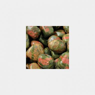 Trommelsteine in 70 Steinsorten (VE=0,5/1kg) - Unakit VE=1kg