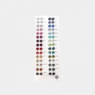 Ohrschmuck Crystals von Swarovski in 6 Displays - Display Ohrstecker 6mm 72 Paar