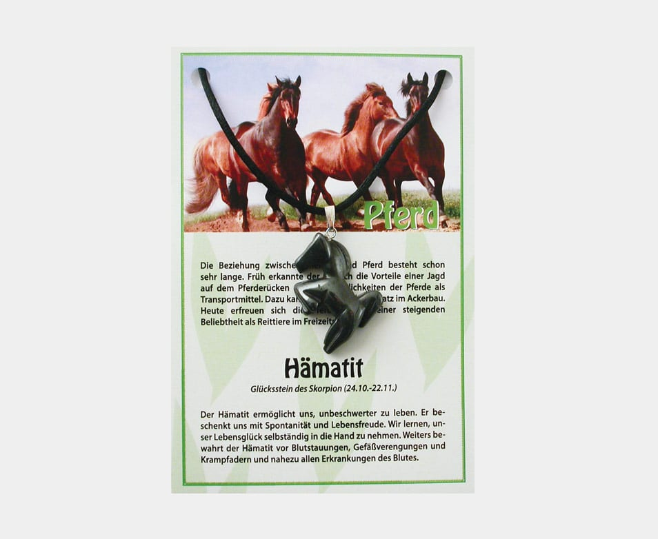 Abverkauf Restbestand! Pferd Neu (große Karte)